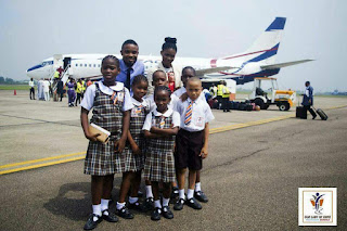 OLHMS Pupils Visit Airport