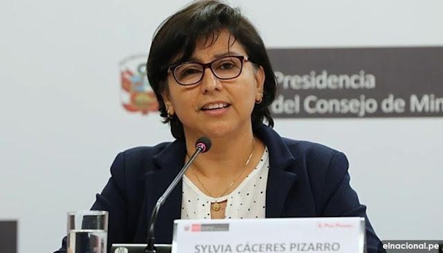 Trabajadores que hagan delivery de alimentos tienen que tener contrato laboral, dice ministra de Trabajo, Sylvia Cáceres