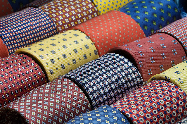 How to care silk ties