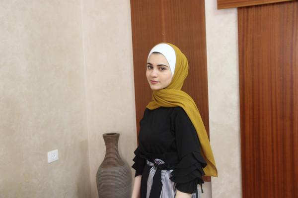 جنى دعباس الأولى على محافظة قلقيلية والثانية على الوطن تروي قصة نجاحها