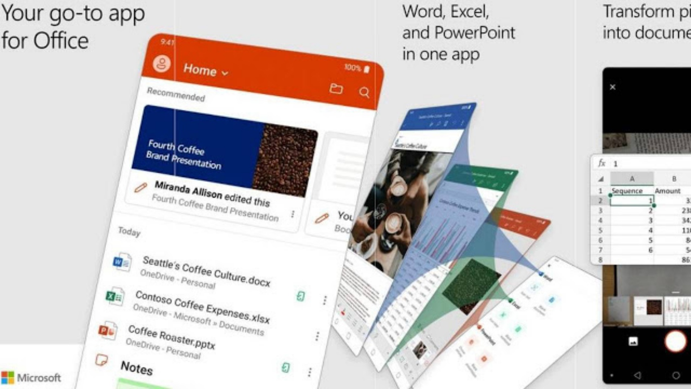 Microsoft Combines Word, Excel, and PowerPoint