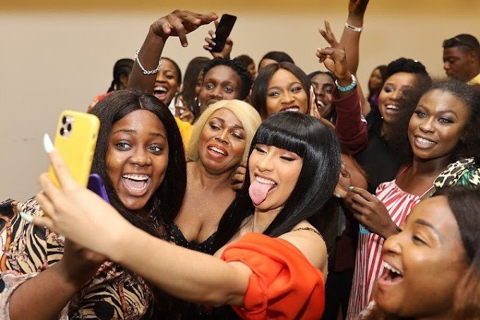 American rapper Cardi B enjoying Nigeria on Africa tour, Ghana next