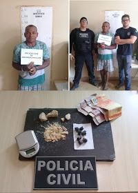 POLICIA CIVIL PRENDE HOMEM ACUSADO DE TRÁFICO DE DROGAS EM JACAREACANGA.