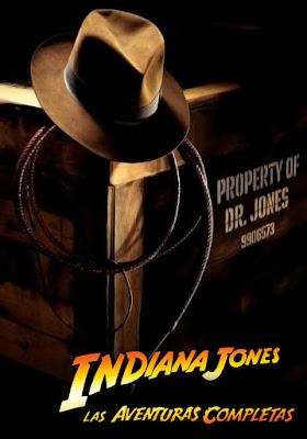 COMBO Indiana Jones Colección DVDHD DUAL LATINO 5.1 + SUB