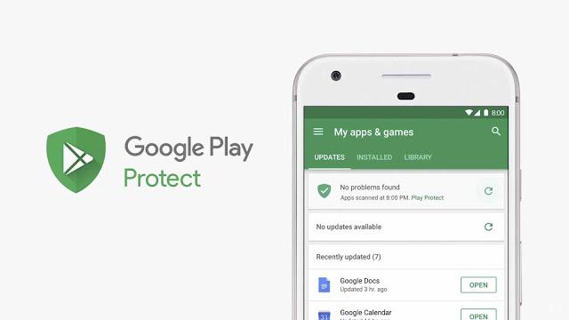 Cara Mudah Mengaktifkan Google Play Protect di HP Android