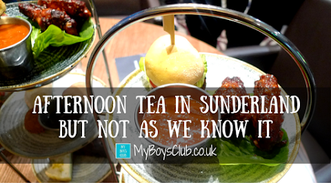Afternoon Tea in Sunderland But Not As We Know It (REVIEW)