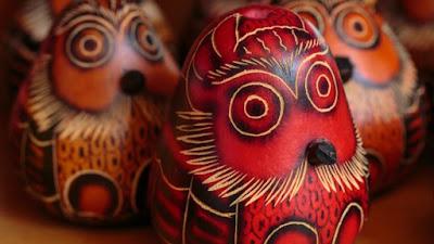 Tradycyjne figurki w Peru