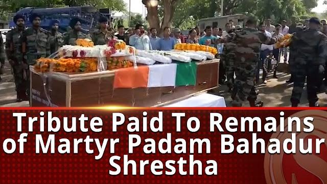 Gorkha Martyr Hav Param Bahadur Shrestha