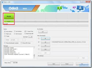 Root & Instal TWRP Samsung S4 Korea (SHV-E300K, E300S, E300L) Android Kitkat