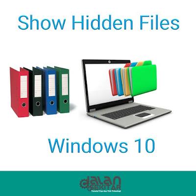 Cara Menampilkan File Tersembunyi di Windows 10