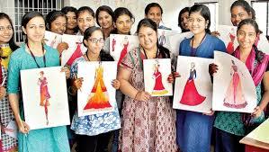 St Teresa S College Fashion Designing Department