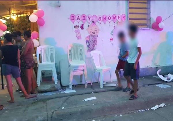 """Borracho atropella a 7 personas en baby shower y el bebé del festejo murió """"Fue sin querer"""""""
