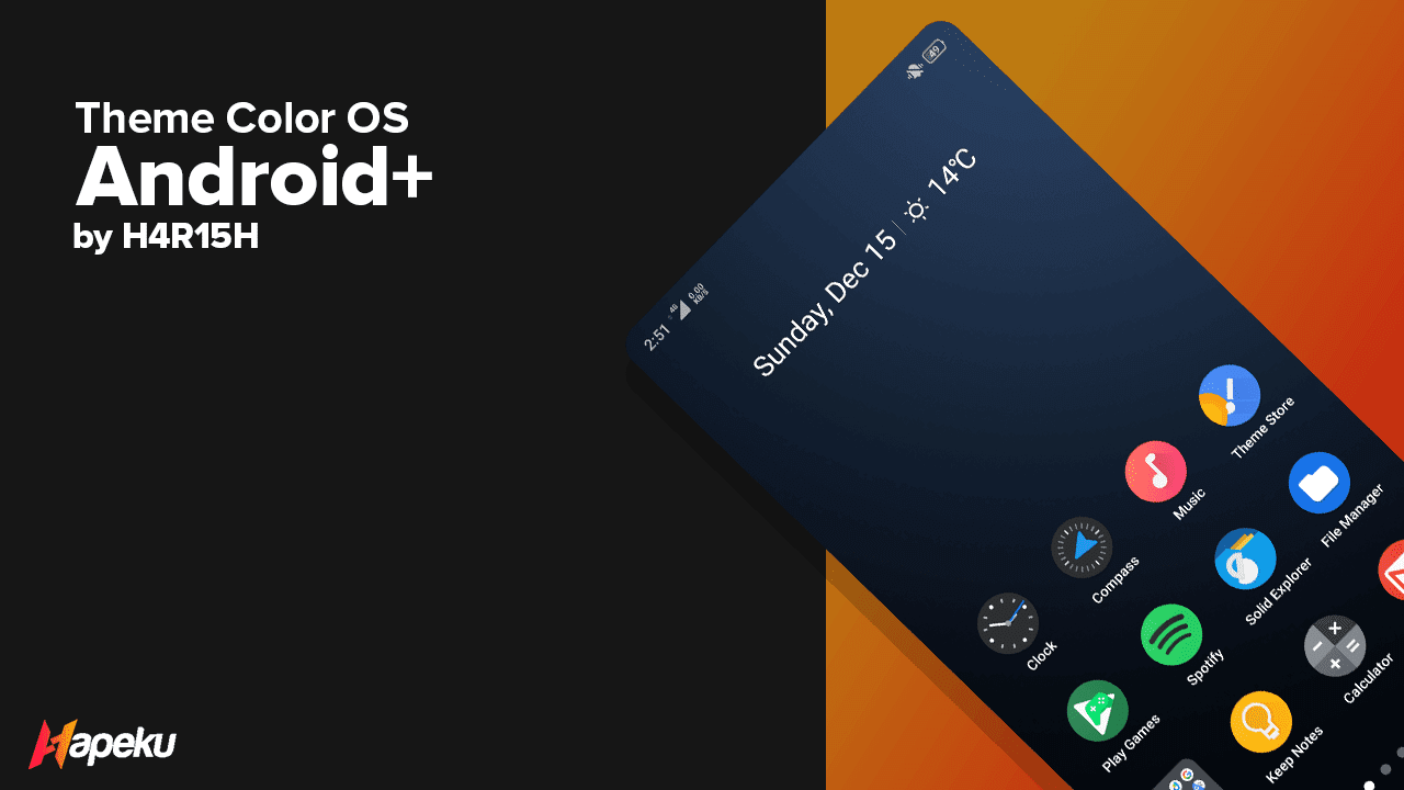 Theme Android Plus for Color OS ( OPPO & REALME )