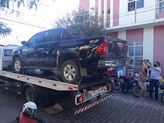 Polícia Militar realiza apreensão de veículo em feira livre de Picuí neste sábado