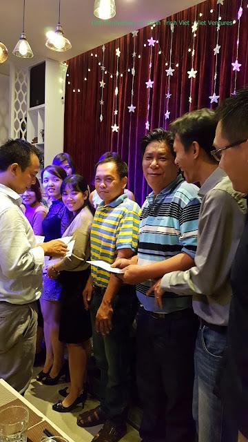 Kỷ niệm sinh nhật công ty Hành Trình Việt lần thứ 18