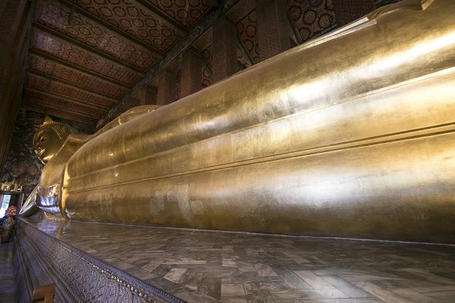 Budda reclinato-Tempio Wat Pho-Bangkok