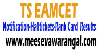TS EAMCET Notification 2018 Apply Online Exam Date Hall Tickets Results Counseling