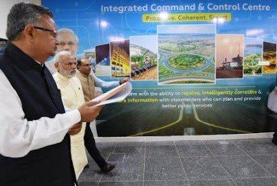 Integrated Command and Control Centre for Naya Raipur Smart City