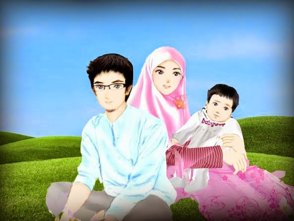 download gambar kartun islami