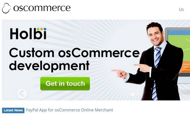 Oscommerce via oscommerce.com