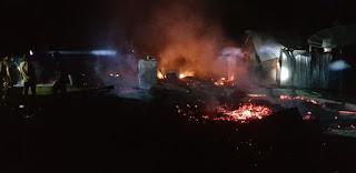 Kebakaran di Aceh Timur, Pemilik Rumah ikut Terbakar dan Meninggal Dunia