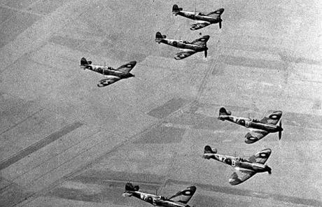 11 August 1940 worldwartwo.filminspector.com Spitfires