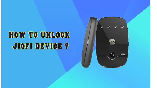 unlock jiofi device