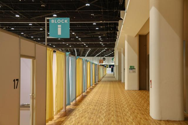 Adnec field hospital in Abu Dhabi has no Covid-19 patient