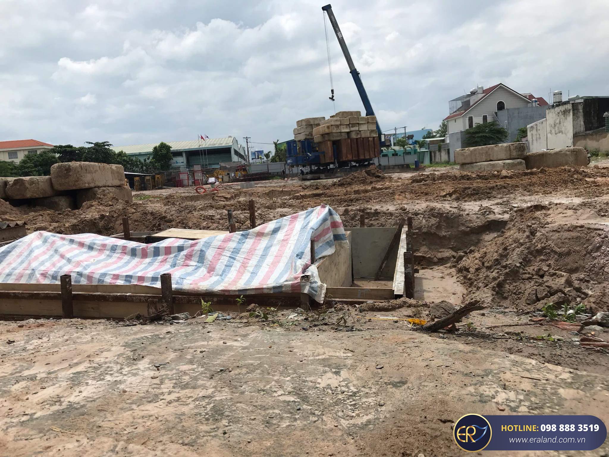 tiến độ Park View  Apartment Thuận An Tháng 8/2020