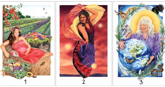 Kокетка, роковая женщина, мать: выберите одну из 3 карт и узнайте о вашей доминирующей черте