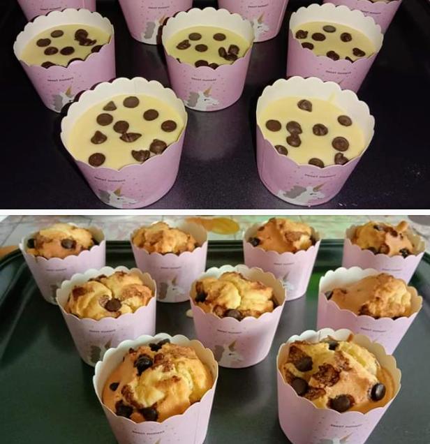 Vanilla Muffin Chocolate Chips