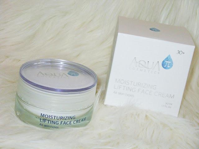 Recenzja: Intensywnie nawilżający krem na pierwsze zmarszczki, Aqua π Cosmetics