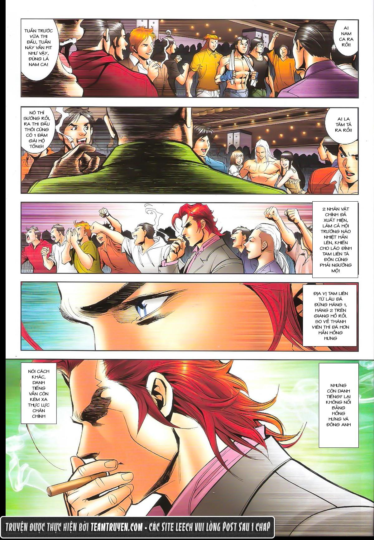 Người Trong Giang Hồ chapter 1632: ác chiến la tâm tả trang 22