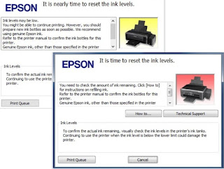 Cara Reset + Download Resetter - Epson L110 L210 L300 L350 L355