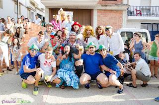 Participantes de la VI Carrera de Tartanas 2016