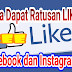 Download aplikasi panel like instagram dan facebook terbaru