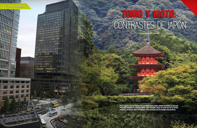 TOKIO Y KIOTO, CONTRASTES DE JAPÓN