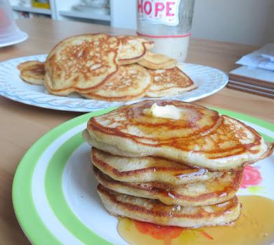 sour dough pancakes