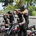 Tim Cobra Polres Lumajang Asah Kemampuan Menembak Diatas Trail