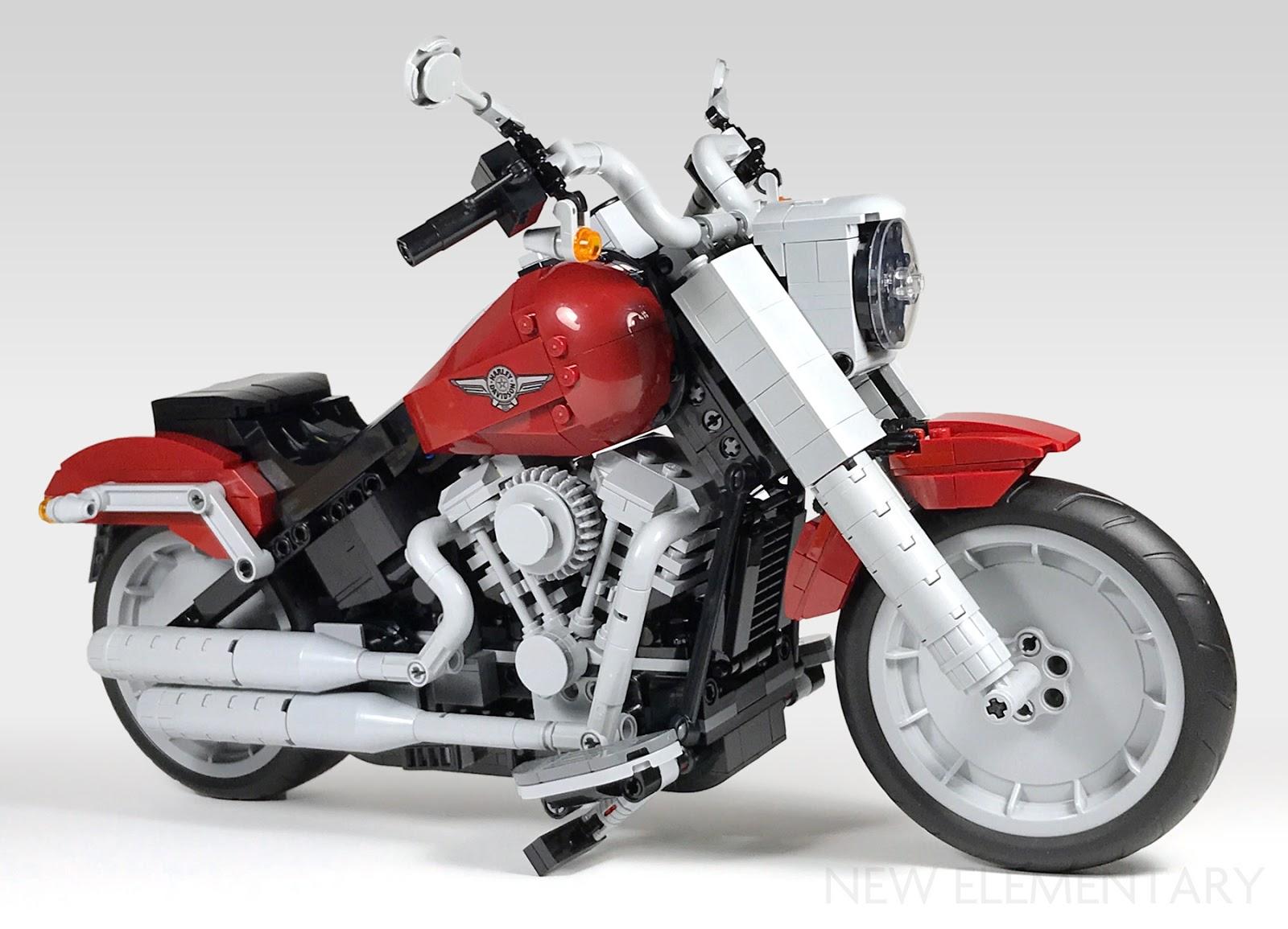 LEGO® Creator Expert review: 10269 Harley-Davidson Fat Boy