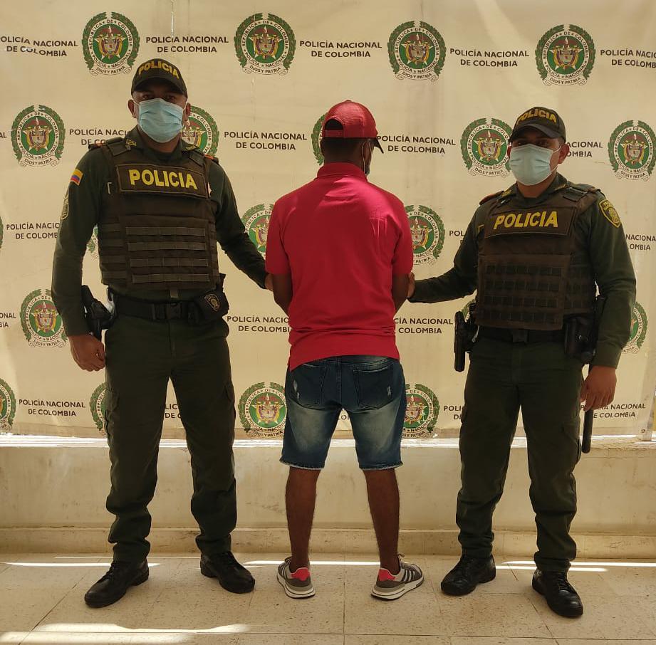 hoyennoticia.com, Capturado en Manaure hombre con casa por cárcel en Soledad