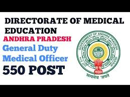 Director of Medical Education of Andhra Pradesh Recruitment for 550 General Duty Medical Officer Apply Online@dme.ap.nic.in /2020/05/DME-AP-Recruitment-for-550-General-Duty-Medical-Officer-Appl-Online-dme.ap.nic.in.html