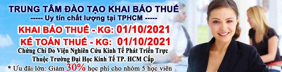 Trung Tâm Học Khai Báo Thuế TP.HCM
