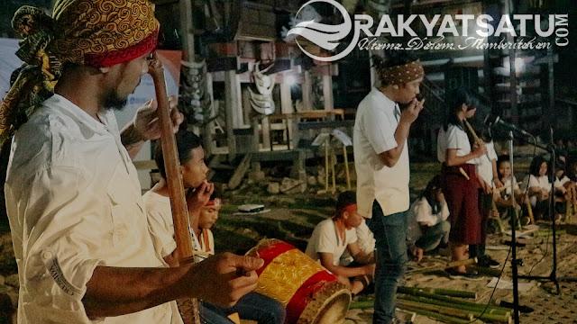 Seniman Mengajar, Launching Musik Kolaborasi Gesu'bala'pe dan Suling Bambu di Kete' Kesu'