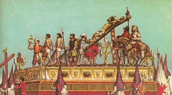 La evolución del misterio de la Exaltación de Sevilla