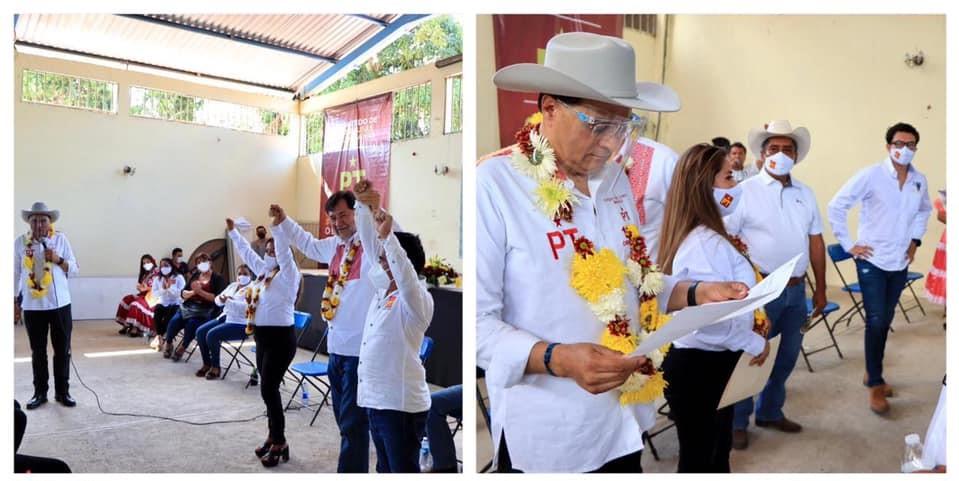 Benjamín Robles en Putla Villa de Guerrero