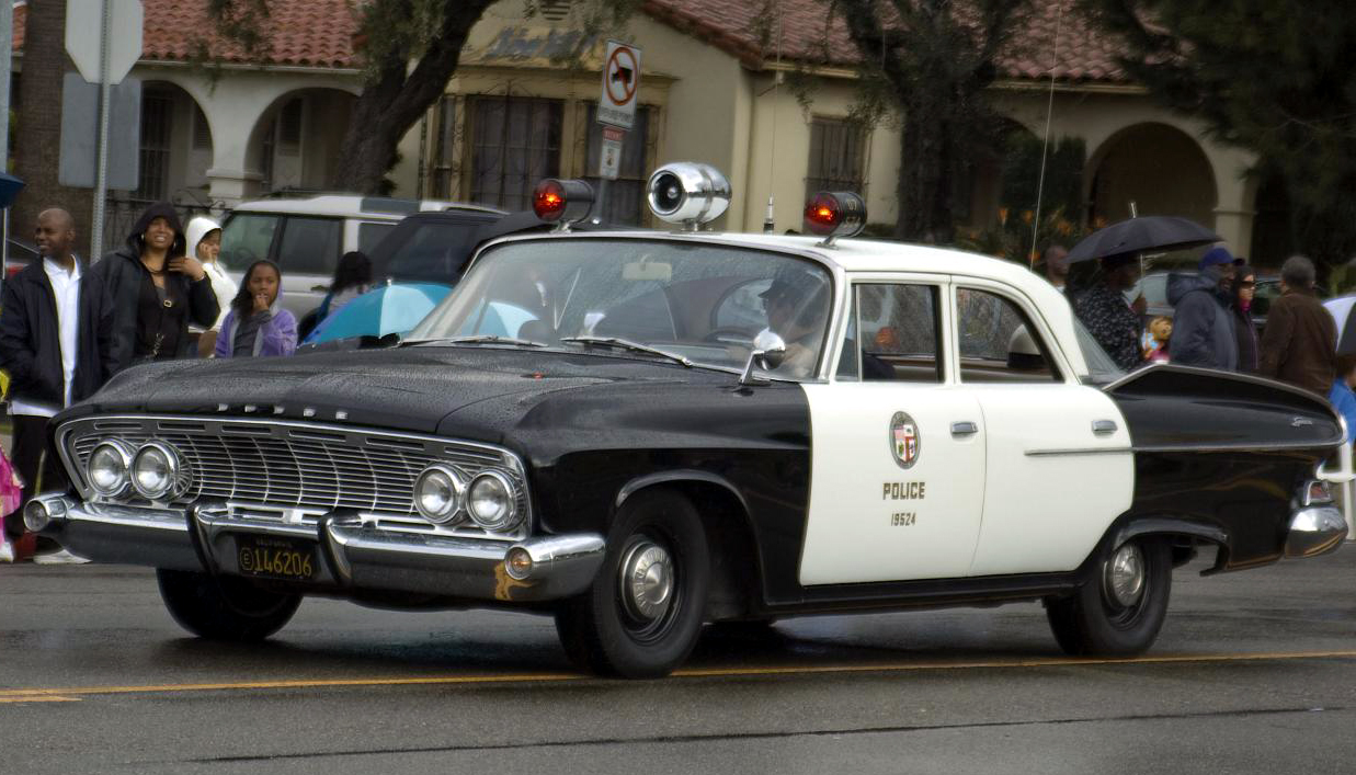 Just A Car Guy Lapd Cars Since 1956