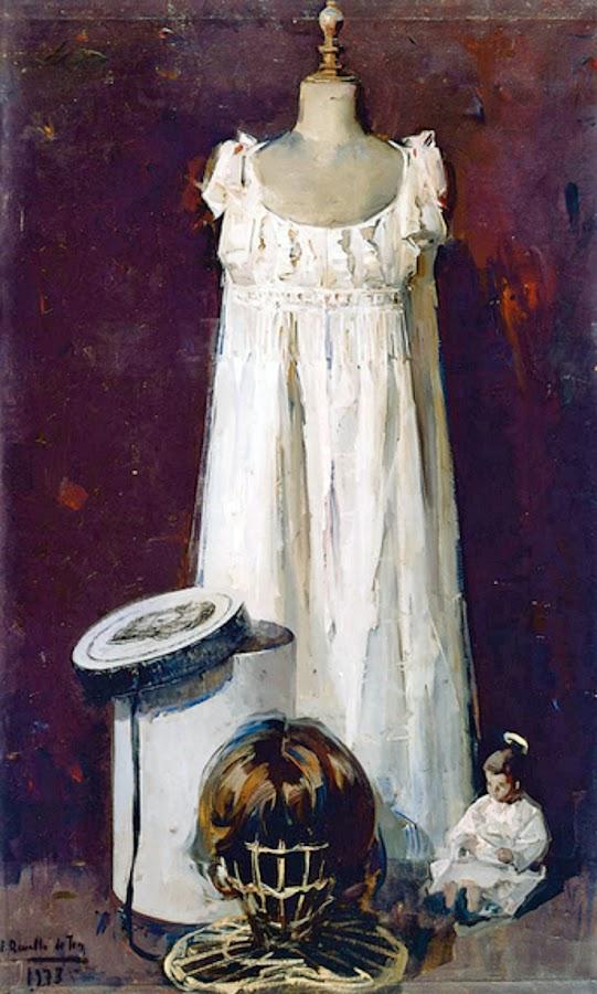 Evocación de lo que fue, Félix Revello de Toro, Retratos de Revello de Toro, Pintor español