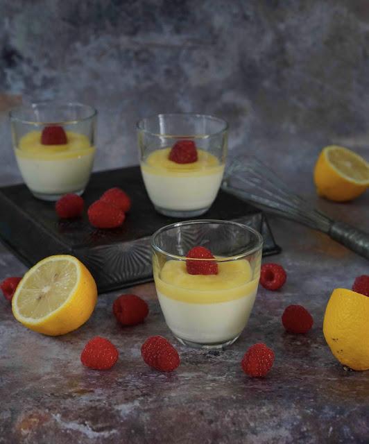 dessert très frais , facile à faire , cuisine rapide , lemon