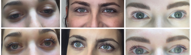 Moore Hair Design, Lash Lift Service, Salt Lake City Lashes